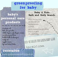 Greenproof baby bath and body products. My go-to shopping for baby products @exploreterra20