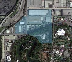 Star Wars Land Build Site?