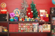 Assorted vintage Christmas goodies