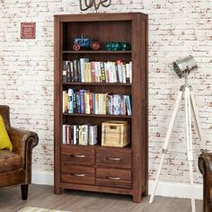 Dalesford Sideboard - Choice of Colours Walnut Bookcase, Large Bookcase, Bookcase Shelves, Shelving, Bookcases, Shelf, Walnut Furniture, Walnut Coffee Table, Large Drawers