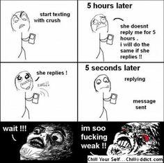 Mega Troll: start texting with crush :P
