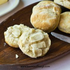 Amish Buttermilk Biscuits {Tastes of Lizzy T}