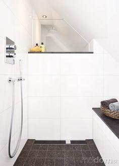 Sprchový kút typu walk-in