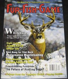 Hunting fishing magazine covers on pinterest fishing for Fur fish and game