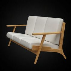 Poliform carmel sofa 3d model design jean marie massaud for Sessel 3d dwg