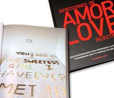 LIBRO INYECCIONES DE AMOR - 20€ Amor, Someone Like You, Te Quiero, Book