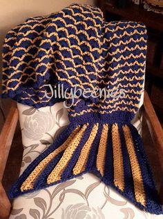 Ravelry: Jillybeenies Mermaid Tail Blanket pattern by Jill Harrison Mermaid Tail Blanket Pattern, Crochet Mermaid Blanket, V Stitch, Mermaid Tails, Double Crochet, Crochet Patterns, Ravelry, Afghans, Crochet Blankets
