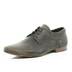 the best attitude f739a 2b14a Brown distressed leather shoes  100.00 Vanliga Skor, Ledig Herr