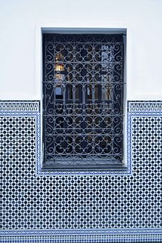 Window detail Marrakesh