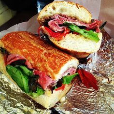 Stop for lunch and enjoy a sandwich or selection of prepared foods or pick up ingredients for a nice dinner at home. Italian Deli, Nice Dinner, Baltimore, Sandwiches, Lunch, Foods, Food Food, Food Items, Eat Lunch