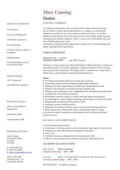 Doctor of medicine resume