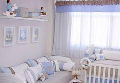 Decoração de quarto de menino - Bebê.com.br