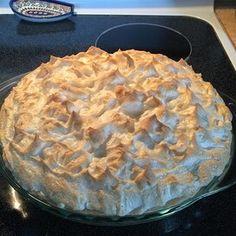 Grandaddy's Sweet Potato Meringue Pie Cream Pie Recipes, Apple Pie Recipes, Yam Recipes, Amish Recipes, Baked Meringue, Meringue Pie, Potato Pie, Sweet Potato, Pastries