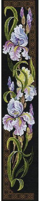 Irises - Cross Stitch Kit