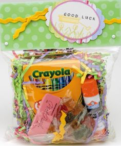 back to school gift bag, Crafts-n-Things Magazine