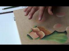 Como pintar un pesebre para navidad paso a paso (parte 2) - YouTube