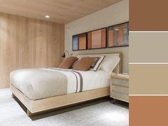 20 paletas de cores para quarto de casal para usar na decoração Home Design Decor, House Design, Home Decor, Double Room, Ikea, New Homes, Bedroom, Furniture, Work Heels
