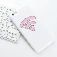 Phone cover: wifi i love you more than wifi iphone case iphone 6 cover iphone 6… #Iphone6Cases #IphoneCaseCovers