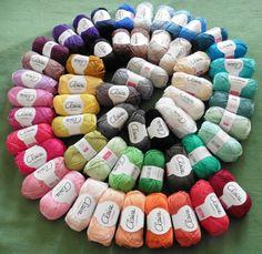 Alle 56 kleurtjes byClaire cotton!