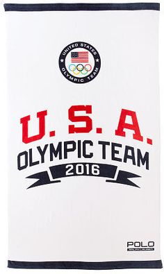 Ralph Lauren Team USA Beach Towel