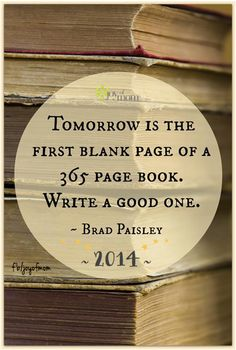 Image result for new year blank pages quotes