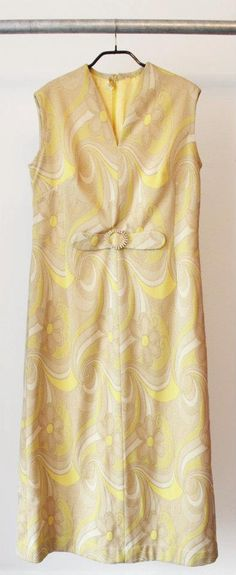 60's vintage dress with lurex  100% polyester  Size 46  Dkk 399,-  Available in Beware of Limbo Dancers