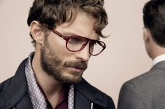Jamie Dornan for Ermenegildo Zegna eyewear #spectacles #glasses