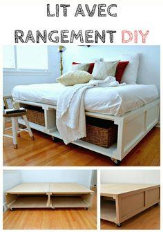 Quand on a une petite chambre, on peut rapidement être encombré par toutes nos affaires. Ce n'est pas facile de tout ranger, puisqu'il n'y a pas de place !