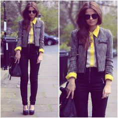 Asos Jacket, Olive Shirt, Boozt Jeans, Asos Shoes, Mulberry Bag