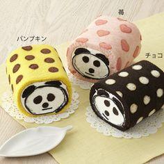 polka dot panda rolls