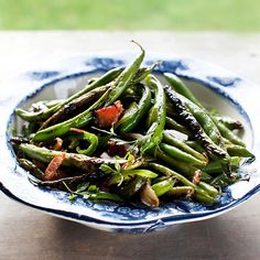 Fresh green beans are packed with flavor in this summer side dish: http://www.bhg.com/recipes/from-better-homes-and-gardens/august-2012-recipes/?socsrc=bhgpin073114blisteredgreenbeans&page=3
