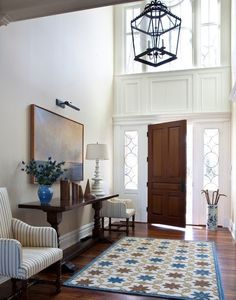 Foyer Design Ideas, Pictures, Remodel, and Decor - page 10 Decor, Luxe Interiors, Foyer Decorating, House Design, Foyer Design, Foyer Lighting, Interior Design, Home Decor