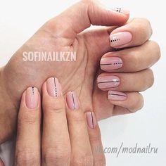 Trendy Nails Art Designs Diy Lines Ideas Nail Manicure, Diy Nails, Cute Nails, Minimalist Nails, Stylish Nails, Trendy Nails, Perfect Nails, Gorgeous Nails, Lines On Nails