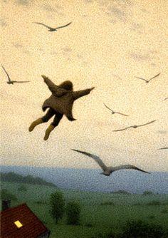 Flying Girl/ Quint Buchholz