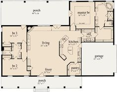 Buy Affordable House Plans Unique Home Plans and the Best Floor Plans Online Homeplans Store Collection of Houseplans Monster House Plans New House Plans, Dream House Plans, House Floor Plans, Small Open Floor House Plans, Open Floor Plan Homes, Unique Small House Plans, 3 Bedroom Home Floor Plans, Retirement House Plans, Basement House Plans