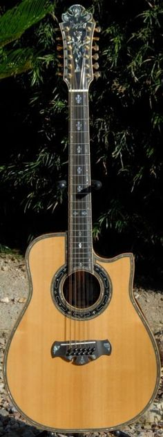 2009 Bozo Podunavac Bell Western 12 String Guitar Lardy's Chordophone of the day 2017 Best Acoustic Electric Guitar, Acoustic Guitar Notes, 12 String Acoustic Guitar, Custom Electric Guitars, Custom Guitars, Music Guitar, Cool Guitar, Acoustic Guitars, Guitar Logo