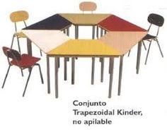 Resultado de imagen de medidas de mesas para niños de preescolar