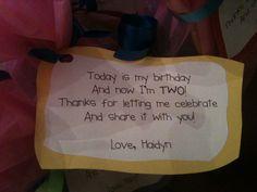 hay birthday