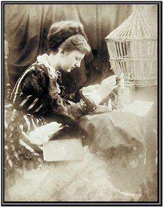 Alice Pleasance Liddell, photograph by Julia Cameron