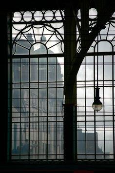 'Window of the City' -     Charles Garnett |  Glasgow Central Station