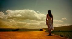 Image result for girl walking alone