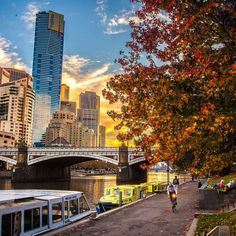 Autumn in Melbourne, Victoria, Australia