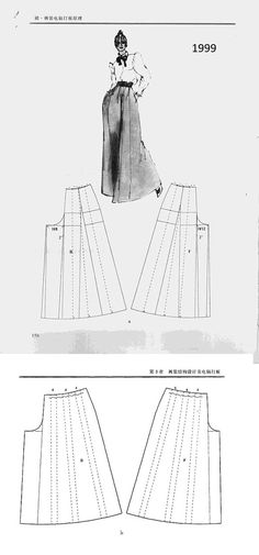 Diy Clothing, Clothing Patterns, Dress Patterns, Sewing Pants, Sewing Clothes, Pola Rok, Pants Tutorial, Pattern Cutting, Pattern Drafting