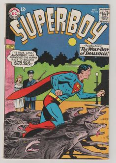 Superboy V1 116.  FN. October 1964.  DC by RubbersuitStudios #superboy #jerrysiegel #comicbooks