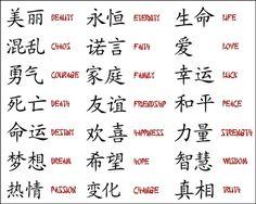 Japanese Kanji Tattoo Designs Tattoos Of And Picture Chinese Symbol Tattoos, Japanese Tattoo Symbols, Japanese Tattoo Designs, Chinese Symbols, Japanese Letters Tattoo, Chinese Writing Tattoos, Tattoo Japanese, Chinese Words, Body Art Tattoos