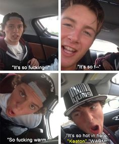 I love when guys are silly.. This makes me very happy ;)
