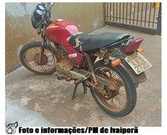 BLOG DE NOTÍCIAS DE MANOEL RIBAS E REGIÃO: Polícia Militar de Ivaiporã recupera moto no distr...