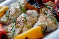grilled codfish