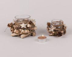 Διακοσμητικά εποχιακά NewMan | bombonieres.com.gr Bottles And Jars, Candle Holders, Candles, Decoration, Glass, Christmas, Decor, Xmas, Drinkware