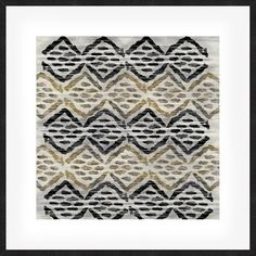 Grey Tribal III Framed Print (245 AUD) ❤ liked on Polyvore featuring home, home decor, wall art, art, grey home decor, tribal home decor, contemporary home decor, gray home decor and framed wall art